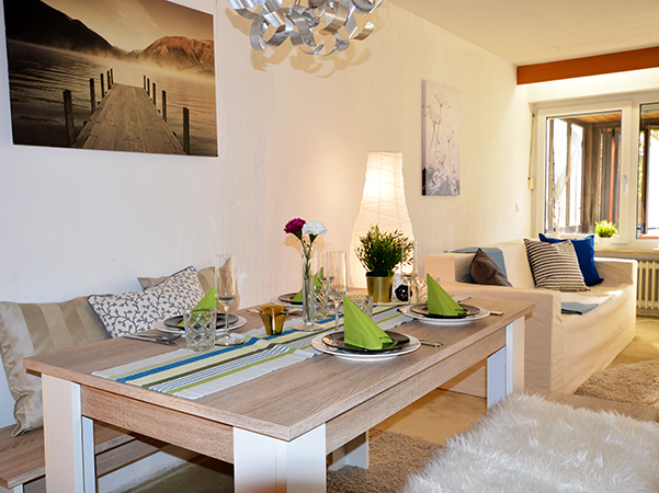 Esszimmer nach Home Staging