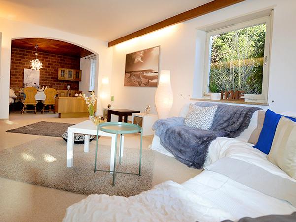 Wohnzimmer nach Home Staging
