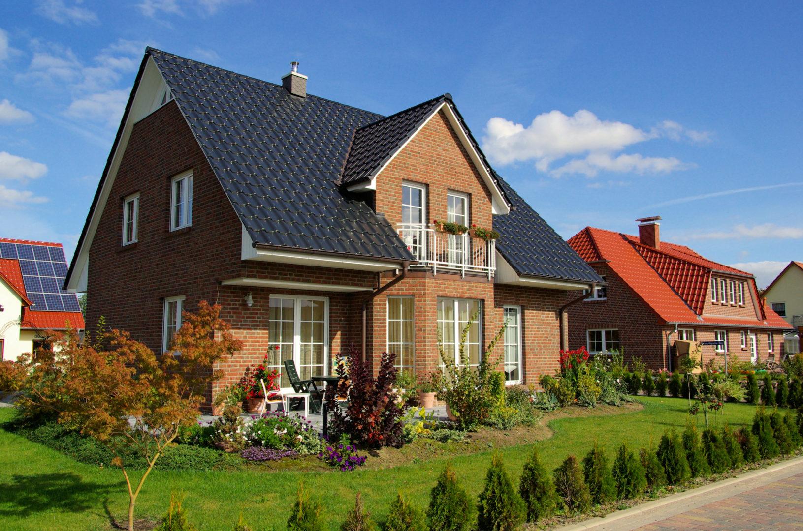 Klassisches Einfamilienhaus